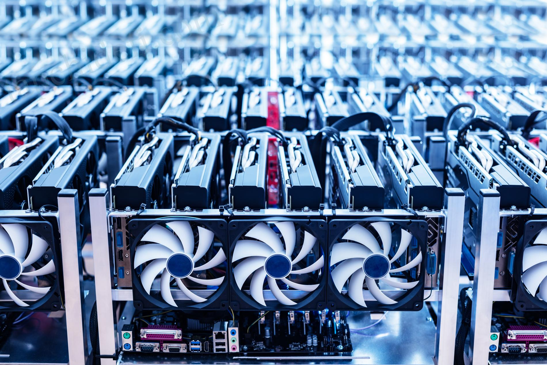 Cryptocurrency mining rigs are selling like junk in China