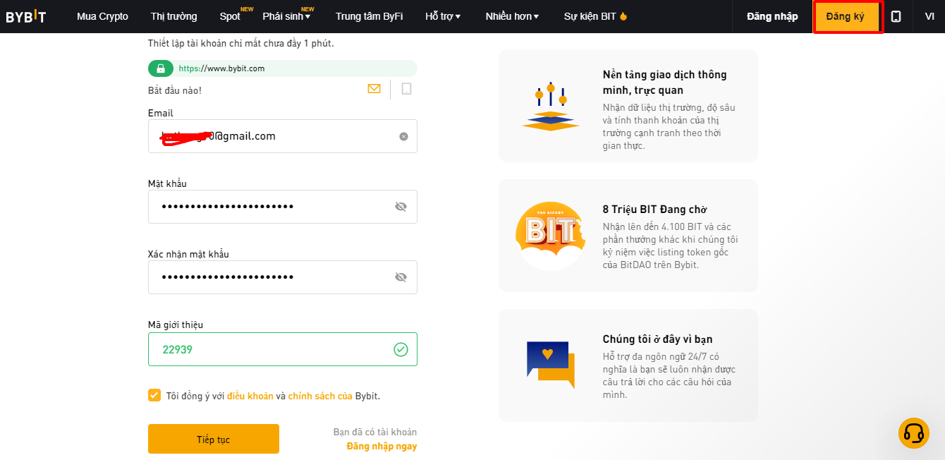 What is Bybit Instructions for registering and using the Bybit