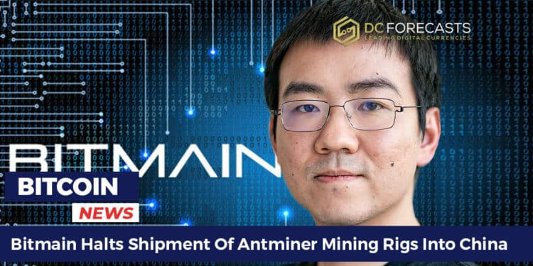 Bitmain is stopping delivery